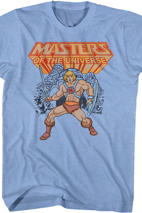 He-Man Action Pose Masters of the Universe T-Shirt