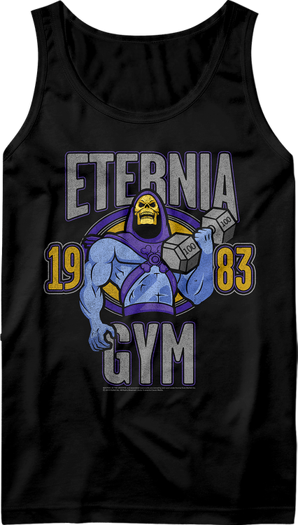 Skeletor Eternia Gym Masters of the Universe Tank Top