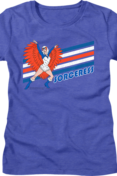 Ladies Retro Sorceress Masters of the Universe Shirt
