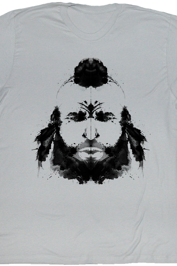 Inkblot Test Mr. T Shirt