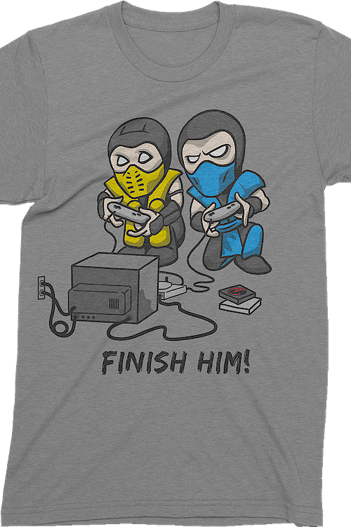 Finish Him Mortal Kombat T-Shirt