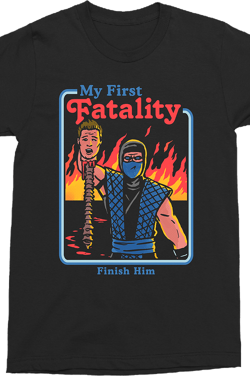 My First Fatality Mortal Kombat T-Shirt
