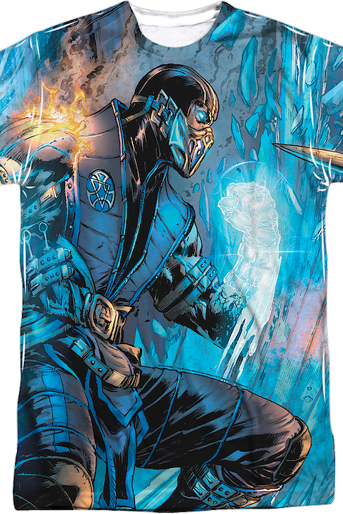 Sub-Zero and Scorpion Mortal Kombat T-Shirt