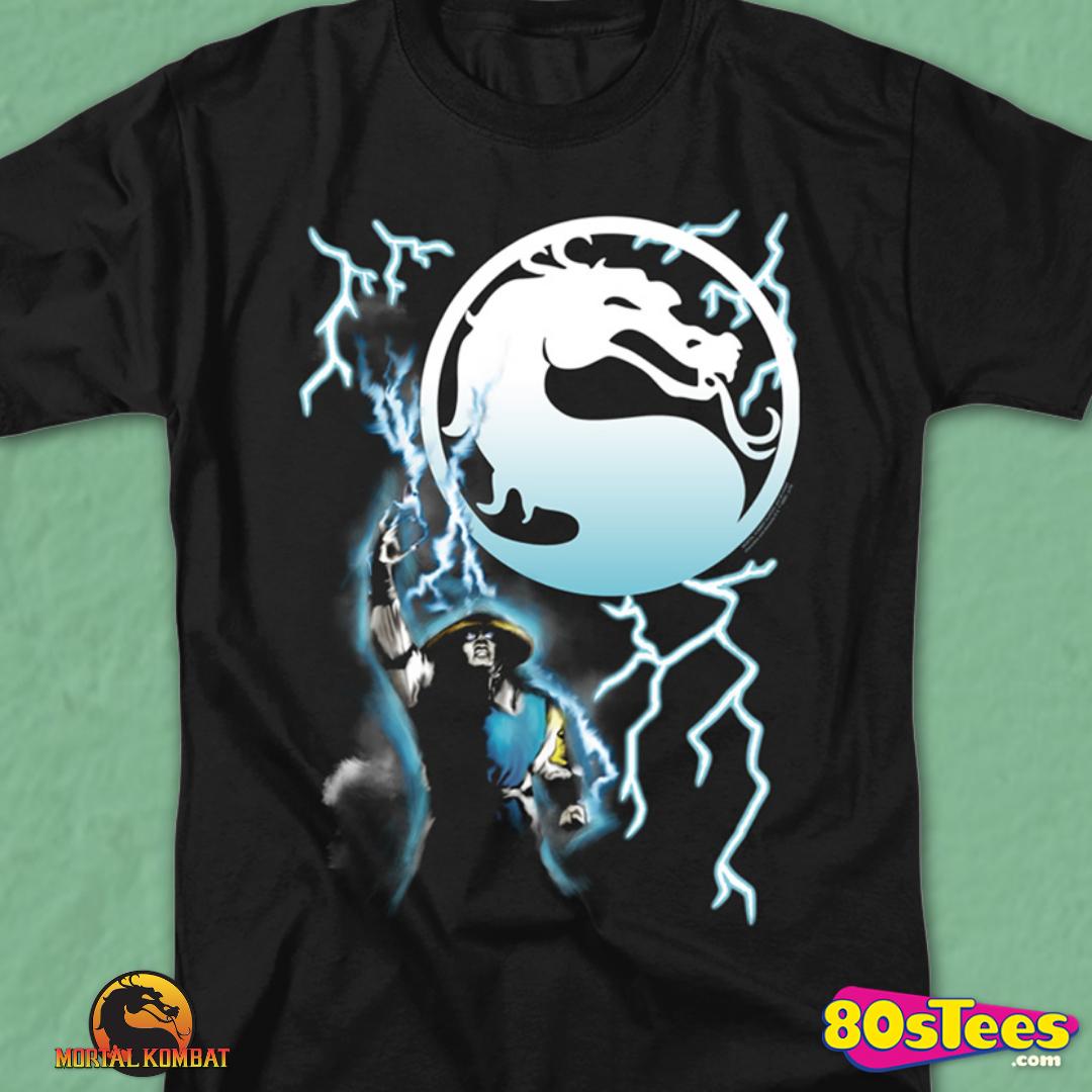 Mortal Kombat RAIDEN Men/'s Gaming T-Shirt