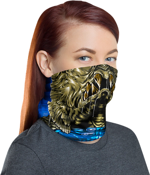 Gillman Monster Squad Neck Gaiter