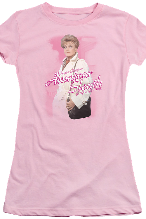 Junior Jessica Fletcher Murder She Wrote Shirt