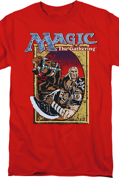 Black Knight Magic The Gathering T-Shirt