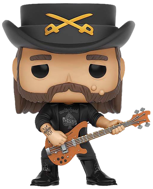 Lemmy Kilmister Pop Rocks Vinyl Figure