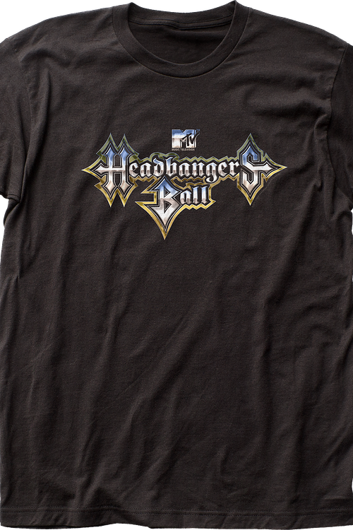 Headbangers Ball MTV Shirt