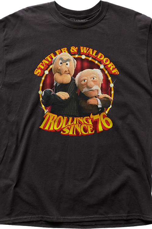 Statler and Waldorf Muppets T-Shirt