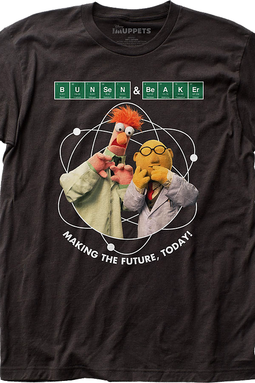 Dr. Bunsen Honeydew and Beaker Muppets T-Shirt