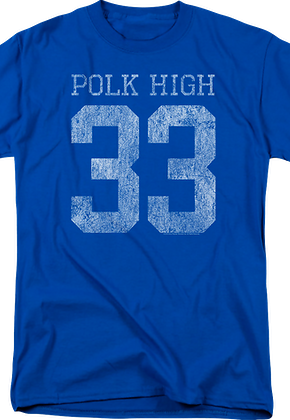 Al Bundy Polk High Jersey T-Shirt  Married With Children Mens T-shirt 4b7b5599a