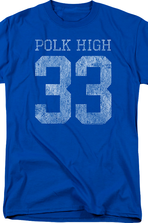 255e35b99 Al Bundy Polk High Jersey T-Shirt: Married With Children Mens T-shirt