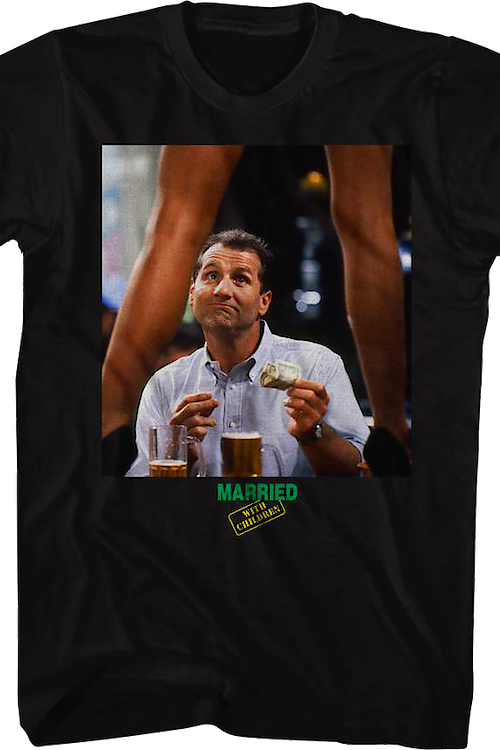 Al Bundy At The Jiggly Room Married With Children T-Shirt