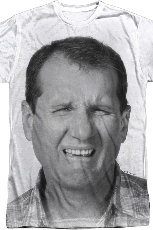 Big Print Al Bundy Married With Children T-Shirt