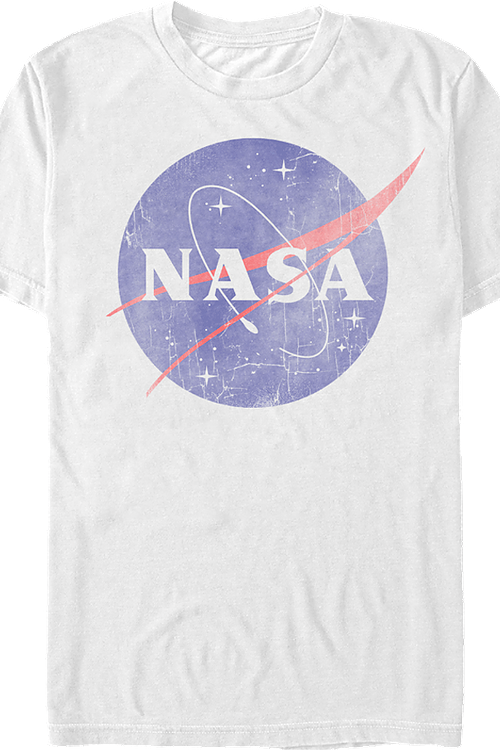 White Logo NASA T-Shirt