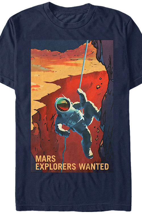 Mars Explorers NASA T-Shirt