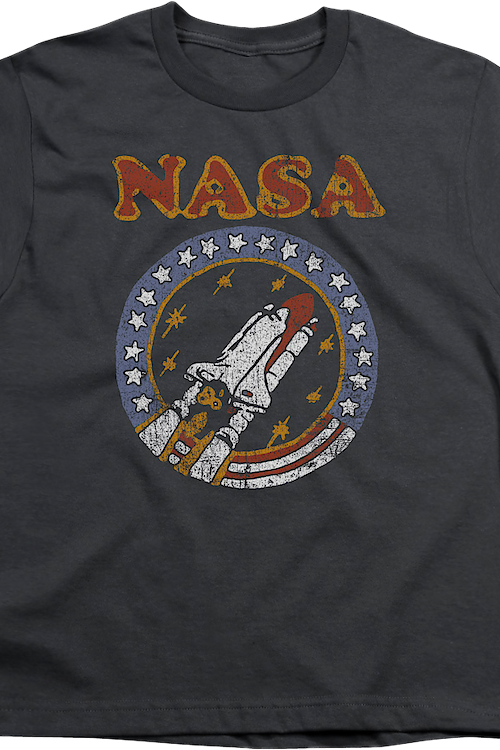 Youth Retro Shuttle NASA Shirt