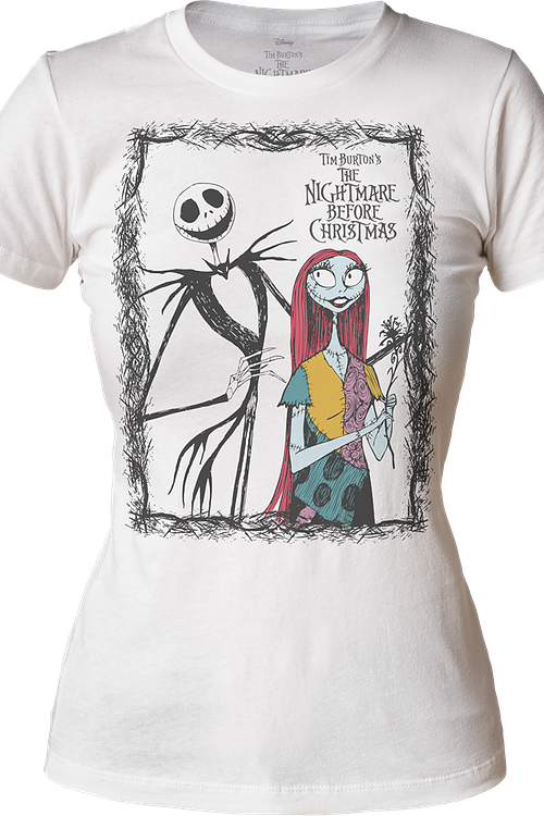 Junior Jack and Sally Nightmare Before Christmas Shirt