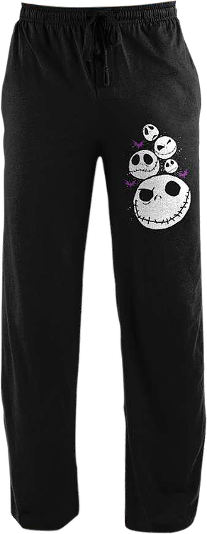 Jack Skellington Nightmare Before Christmas Lounge Pants