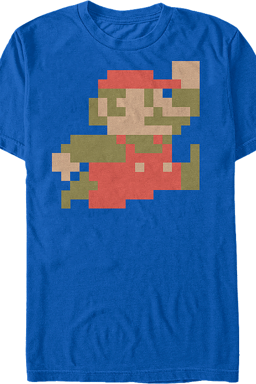 cdfa16358926f0 8-Bit Mario Shirt  Video Games Nintendo