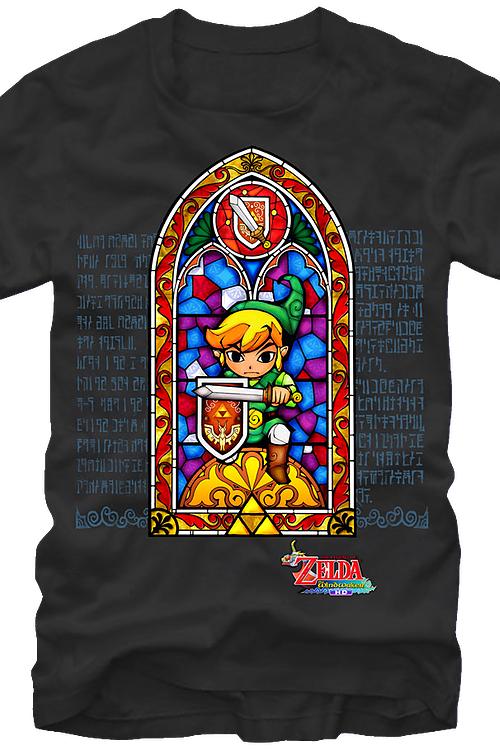 Stained Glass Zelda Shirt