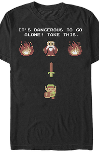 It's Dangerous Zelda Shirt