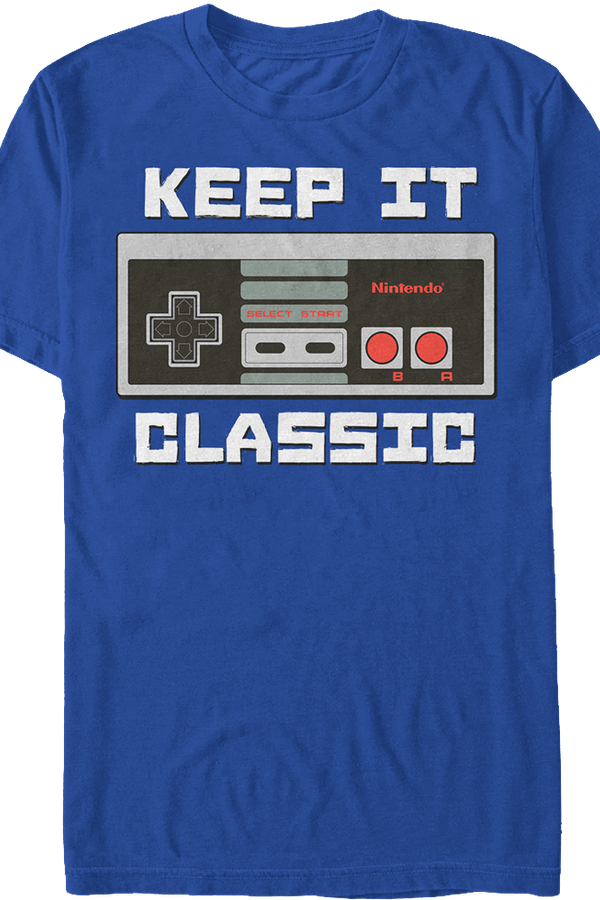 Keep It Classic Nintendo Shirt