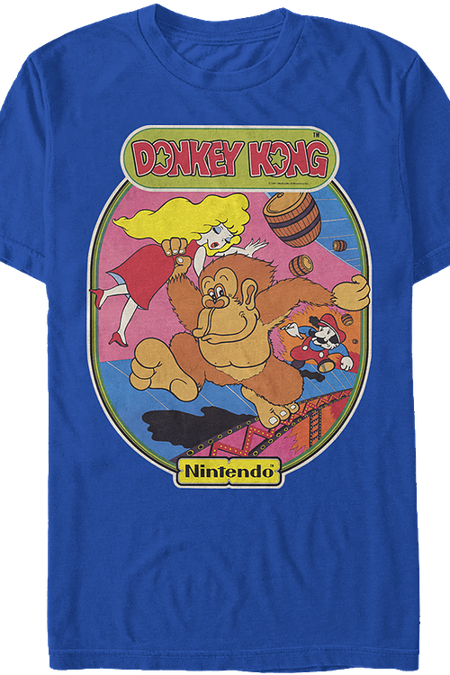 3dadbfac44b Donkey Kong T-Shirt  Video Games Donkey Kong Mens T-Shirt
