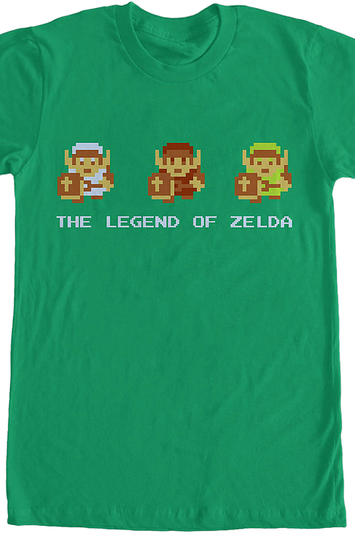 Pixel Legend of Zelda T-Shirt