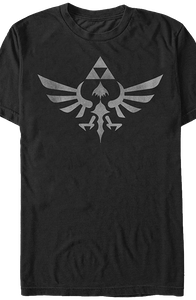 Black Tri-Force Shirt