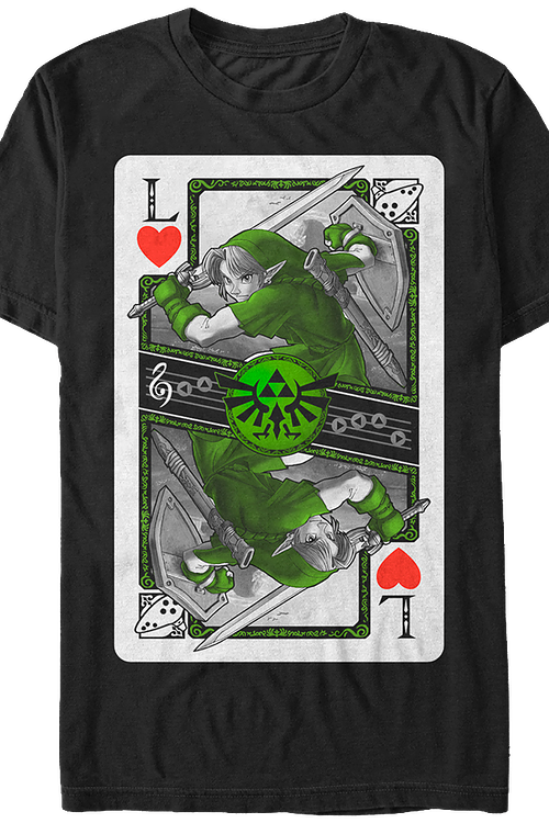 Link Playing Card T-Shirt