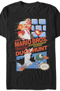 Super Mario Bros and Duck Hunt T-Shirt