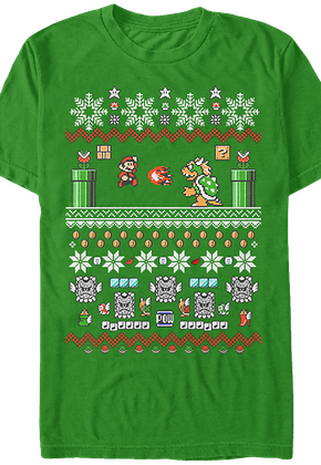Nintendo Super Mario Christmas T-Shirt