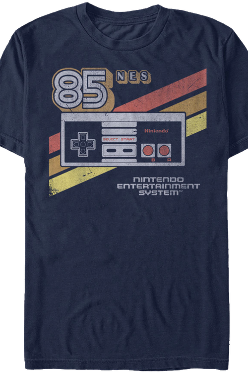 19073c4bf Retro Controller Nintendo T-Shirt: Nintendo Mens T-Shirt