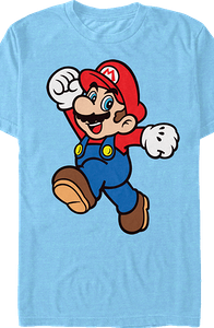 Jump Pose Super Mario Bros. T-Shirt