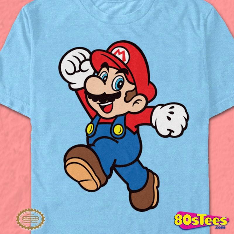Jump Pose Super Mario Bros T Shirt
