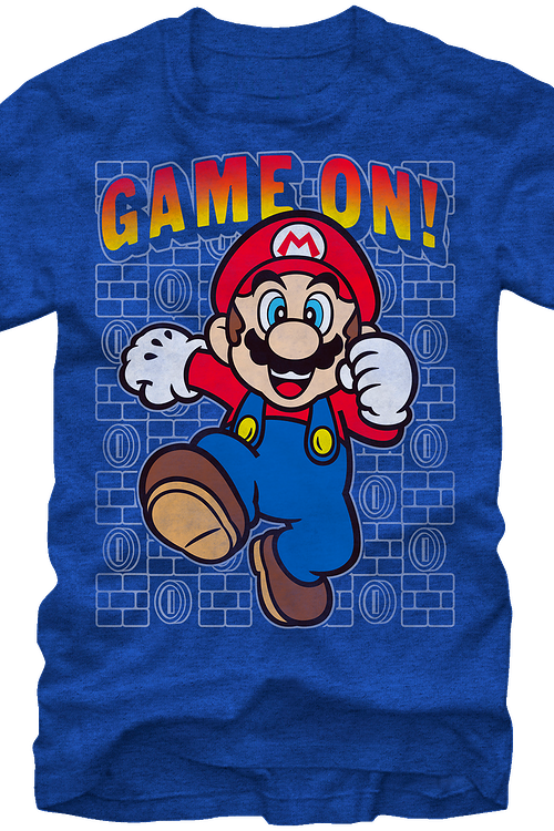 Game On Super Mario T-Shirt