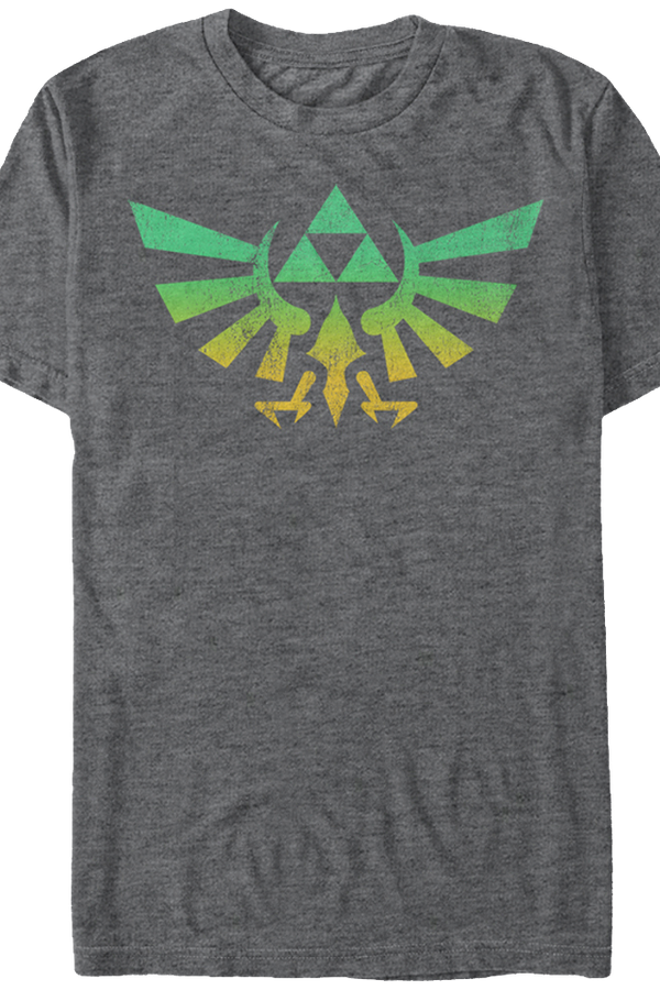 Colorful Tri-Force Legend of Zelda T-Shirt