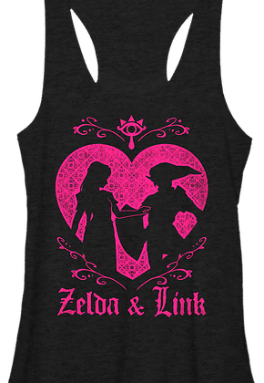 Ladies Zelda and Link Tank Top