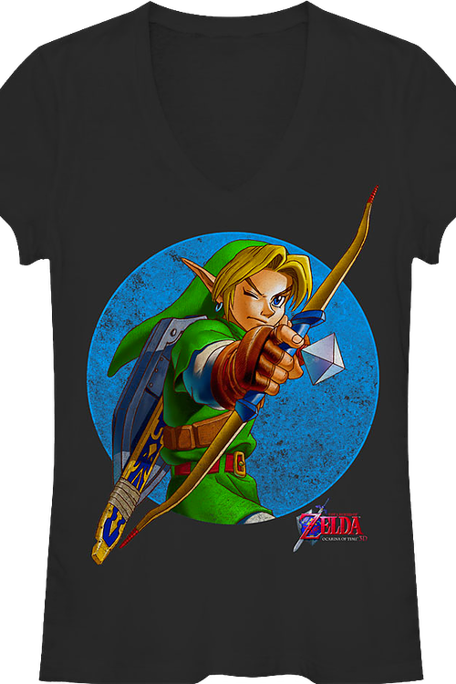 Junior Link V-Neck Legend of Zelda Shirt