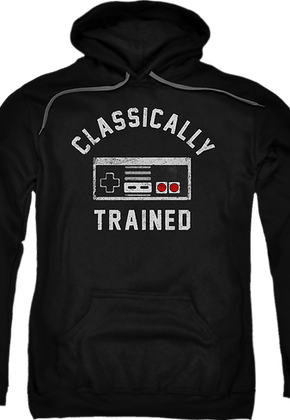 Classically Trained Nintendo Hoodie
