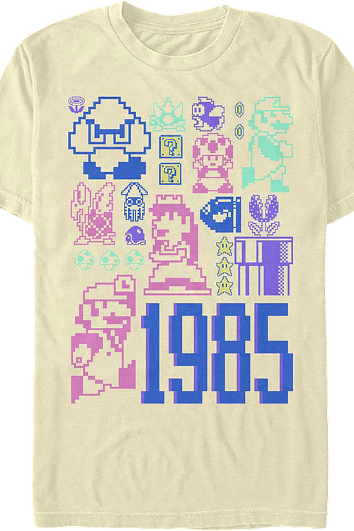 Pastel Super Mario Bros. T-Shirt