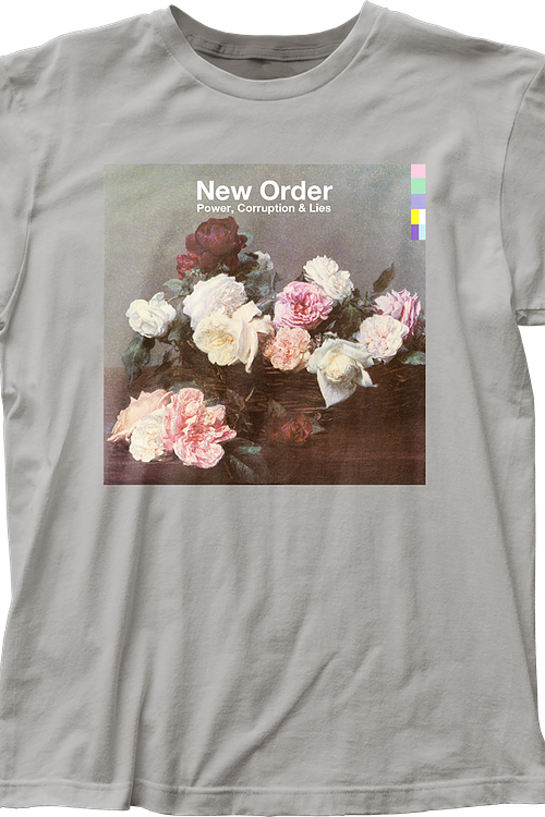 Power Corruption and Lies New Order T-Shirt