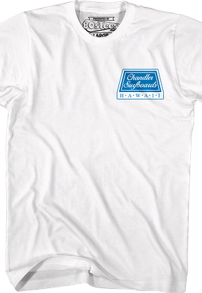 White Chandler Surfboards North Shore T-Shirt