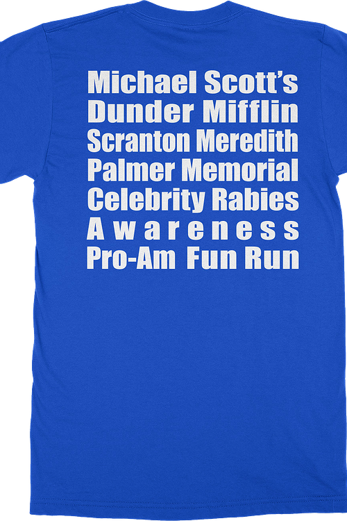 Michael Scott Fun Run T-Shirt