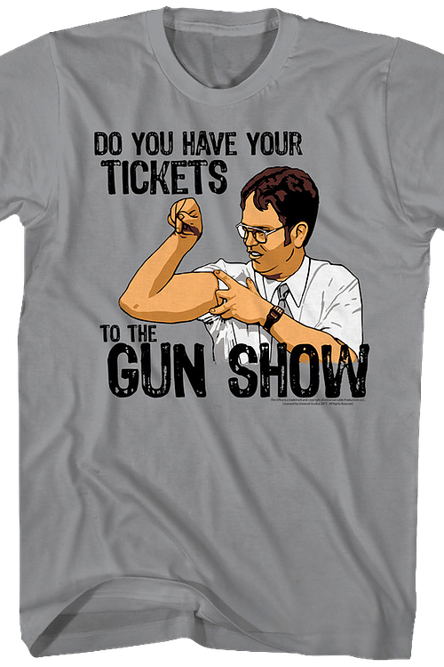 Tickets To The Gun Show The Office T-Shirt