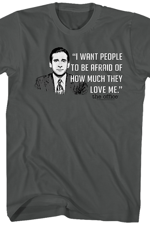 I Want People To Be Afraid The Office T-Shirt
