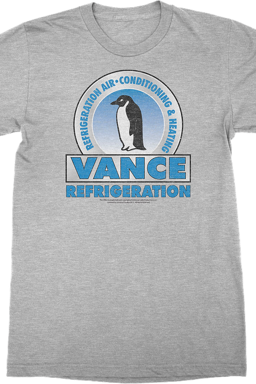 Vance Refrigeration The Office T-Shirt