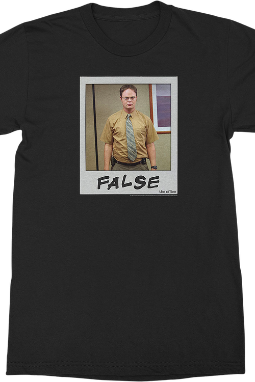 Dwight Schrute Polaroid The Office T-Shirt